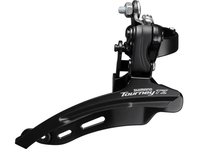 Shimano Tourney TZ FD-TZ510 Forskifter 3x6/7-speed Down Swing klemme høj sort